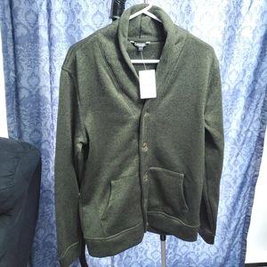 George Men's Sweater Fleece Cardigan - S/P